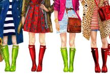 Fashion illustrations / by K Marie