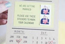 Save the date / invitation ideas / Different ideas for save the date / invitations