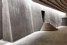 Architecture interior exterior