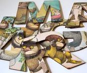 Where The Wild Things Are / https://www.etsy.com/uk/shop/BestLovedStories