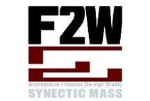 F2W_ works / 건축.인테리어 디자인 스튜디오로 창조적 사고와 해법에 관한 고민을 하는 집단.