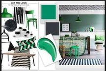 PaintRight Colac Mood Boards For Interior Design / Designer Colour Room Mood Board