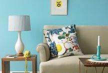 PaintRight Colac Blue Interior Colour Schemes / Blue Rooms
