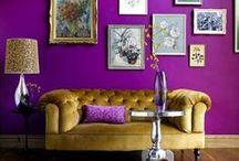 PaintRight Colac Purple Interior Colour Schemes / Purple Rooms