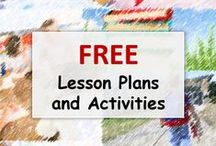 Free Lesson Plans and Activites / Get great lesson plans and activities for Free!  Download these resources and use your favorite children's books to teach reading.