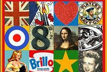 Year 8 Pop Art / Artists and inspiration for the Pop Art Composition Unit