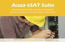 Aqua eSolutions Sector SAT / #AquaeSolutions, desarrolla Aqua eSAT, Software de gestión ERP, CRM, web, especialmente diseñado para Servicios Técnicos profesionales. #SoftwareSAT #SoftwareServicioTecnico