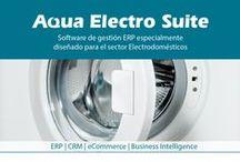 Aqua eSolutions Electrodomésticos / #AquaeSolutions desarrolla y comercializa Aqua Electro, Software de Gestión empresarial especializado para el Sector #Electrodomésticos. #SoftwareElectrodomesticos #ERP #SoftwareGestion
