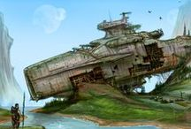 Derelict Spaceships, Lost Colonies and Space Robinsons