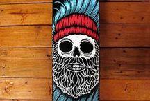 Skate Art • Custom Skateboards