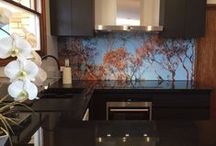 Printed Acrylic Splashbacks / Innovative Splashbacks® printed acrylic splashbacks used on kitchen, bathroom, shower and laundry walls to make an incredible feature to your room.