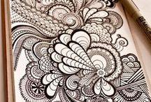 Mandalas y Zentangle