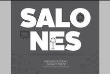 SALONES I Tifón Hipermueble / Presume de diseño, calidad y precio...en tu SALÓN.