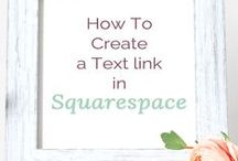 Squarespace Page Layout and Content Blocks / Squarespace Page Layout and Content Blocks