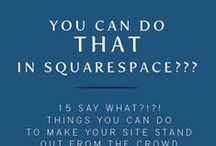 Squarespace Tips and Tricks / Squarespace settings and other random weird things you may not know. (I certainly didn't.)