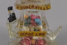 Glass Candy Containers