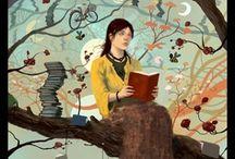Reading - Lecture / Lire, c'est entrer dans un univers différent à chaque fois. Lire, c'est voyager, s'évader. La lecture, c'est aussi ce qui donne l'inspiration pour créer et écrire.