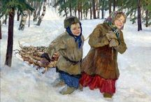 Nikolay Bogdanov Belsky, art.