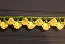 Crochet => Puntillas / Edgings