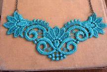 Encaje bolillos / Bobbing lace