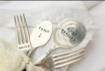 Wedding cutlery (silverware) / Some inspirational ideas for the table set up and Cutlery (silverware) for your Wedding