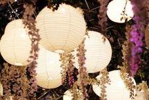 Decoração / Festa / Idéias de decoração, iluminação, arranjos para ocasiões especiais
