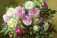 Bouquets de Fleurs en peinture / by Mélanie