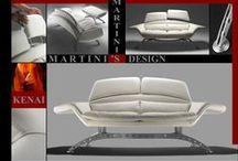 Hommage Martini's / Depuis 2 ans l'usine a fermé, fleuron du canapé moderne italien. Hommage à Mr Martini's sur http://www.canape.net