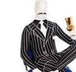 Morphsuits & Second Skin Suits / Morphsuits und Second Skin Kostüme sind hautenge Ganzkörperanzüge, durch die man mühelos hindurchsehen, atmen und teilweise sogar trinken kann. Ein echter Hit für Karneval und jede Mottoparty!