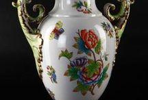 porcelán , kerámia, fajansz