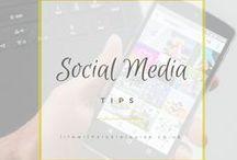 Social Media Tips / social media help, Instagram inspiration, Facebook and Twitter guides, social media tips