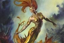 Mermaids~ Sirenas~ Sea Creatures / by Pamela Armas
