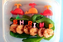 Shrimp- Yummy! / My VERY, VERY Favorite Food~  MMM-MMM-MMM! / by Pamela Armas