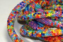 Beaded Crochet Ropes / by Cheryl Grissett
