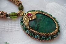 Beaded Cabochons / by Cheryl Grissett