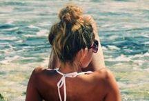 beach bummin' / by Paige Van Asten