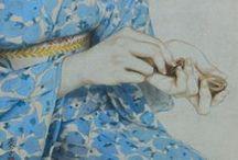 JAPANESE ART ladies