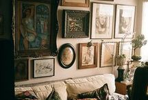Picture Walls / The Decoration of that all Important wall