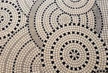 mosaic / The art of Mosaics, intricate geometric, also cleverly beautiful
