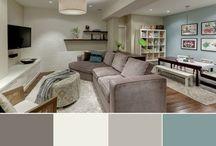 Basement ideas / Home
