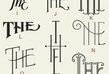 Fonter/kalligrafi