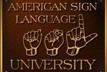 ASL for zombie / ASL American sign language  is my and my daughter second language. Pin things to make learning new words more fun to incorporate into our daily life