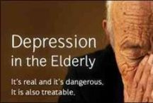 Depression in the Elderly / Signs, Symptoms, Risk Factors, Treatment of Depression in Elderly