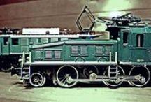 VLAKY - TRAINS - MODELY