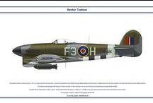 Hawker Tempest , Hawker Typhoon