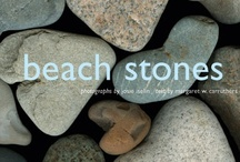 Beach Stones / A collection of beach stones, in a 7 x 7 inch book.  Learn about the geology of the beloved stones we pick up and wonder about on the beach.  Written by Margaret Carruthers