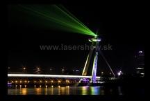 Outdoor laser show