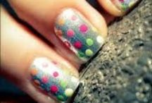 Nail Polka Dots / This is about girls with polka dotted nails..... All polka dotted nails.