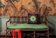interior design (chinoisiere) / chinoisiere  / by Cynthia Dartley