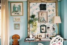 interior design (eclectic) / by Cynthia Dartley